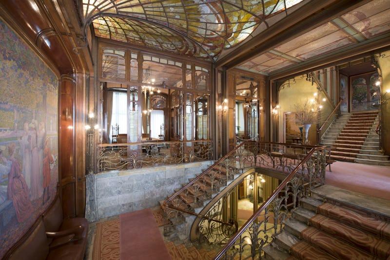 Ouvertures exceptionnelles d'hôtels de Maîtres Hôtel Solvay - © Explore.Brussels - Photographe Sophie Voituron
