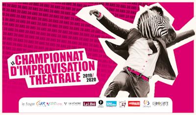 Match d'improvisation/Championnat FBIA : Croutounz VS Laconiques Anonymes