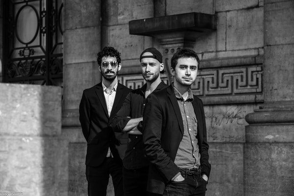 Martin Salemi trio Roger Vantilt