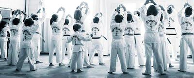 Cours de taekwondo pour les enfants de 3-5 ans