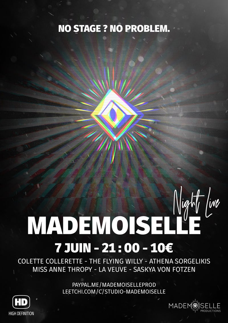 Mademoiselle Night Live - FACEBOOK