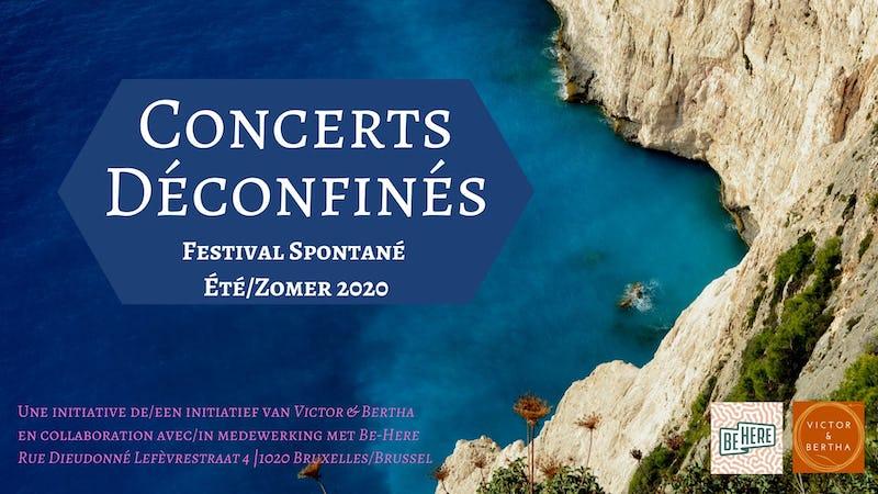 Concerts Déconfinés - Festival Spontané