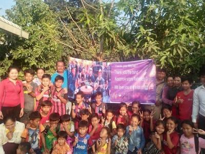 Kosmokrators Rebetiko: Fundraising Cambodia children