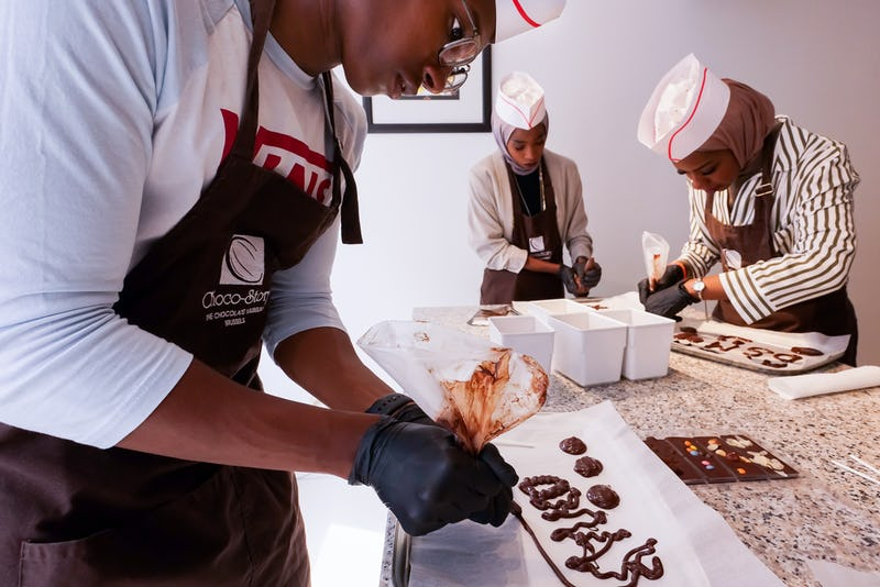Atelier chocolat  Choco Story Brussels