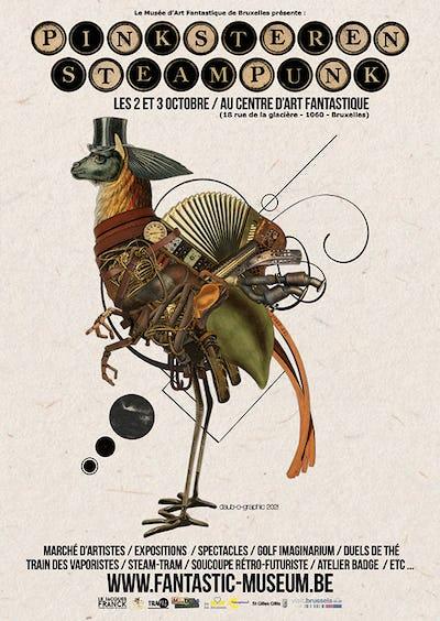 Festival International Pinksteren Steampunk