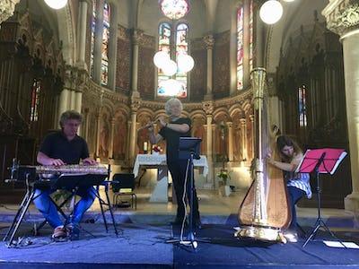Percussions et flûtes enchantées - Trio Amadeus
