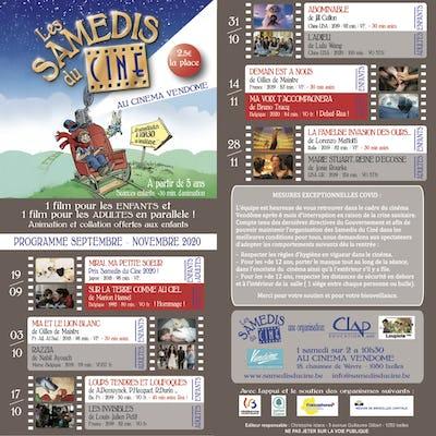 Les Samedis du Ciné - Ciné Club Enfants et Adultes