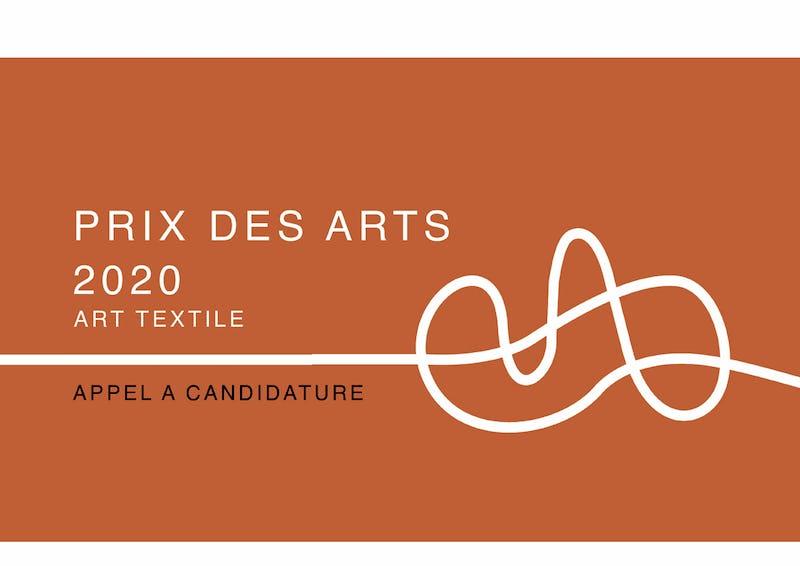 Prix des Arts 2020 - Art textile