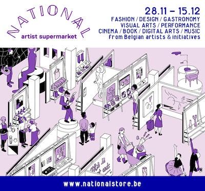 The NATIONA(A)L Artist Supermarket