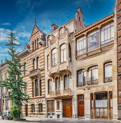 Wandeling: Art Nouveau in de Louizawijk