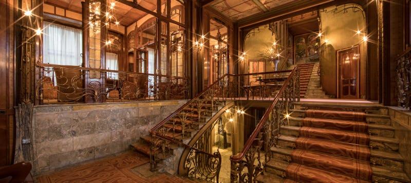 L'hôtel Solvay et ses innovations techniques