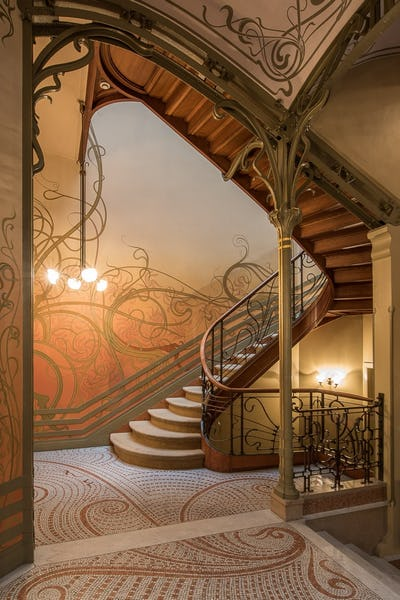 The Tassel house by Victor Horta: an Art Nouveau masterpiece