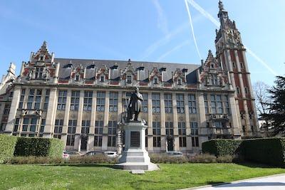 Le quartier du Solbosch à Ixelles