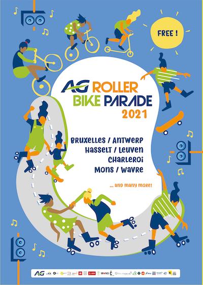 Roller Bike Parade