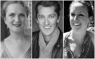Andrew Glover, Olga Dubois et Justine De Wandeler
