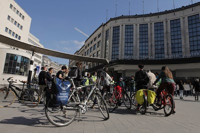 Weekend tour on Friday, discover Brussels by bike