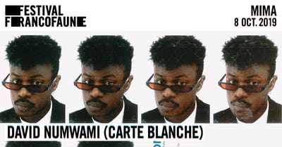 David Numwami (BE) en carte blanche | FrancoFaune 2019