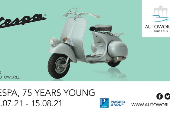 Celebrating the 75th anniversary of those glorious Vespa machines