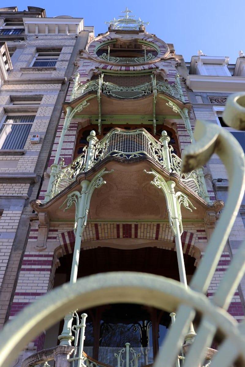 L'Art Nouveau dans le quartier des Squares