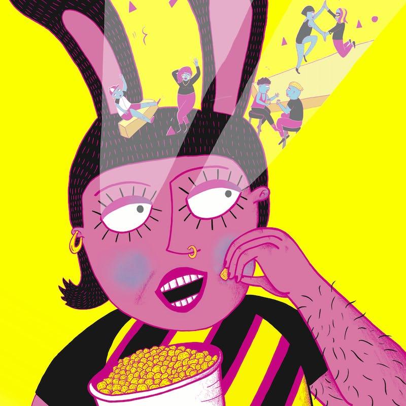 Pink Screens - Brussels queer Film Festival Kidnap your designer / Marin d'Eau Douce Illustration