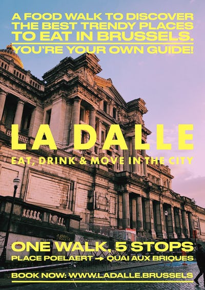 La Dalle - Eat, drink & move in the city