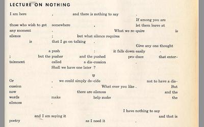 Conférence sur rien (1949) - Jérôme Bel