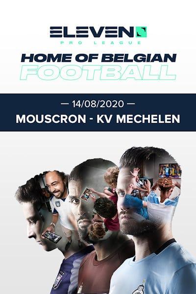 Pro League 2020/21: Mouscron - Mechelen - VF