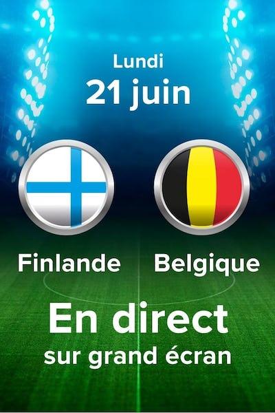 Football: Championnat EU 2020: Finlande - Belgique - VF