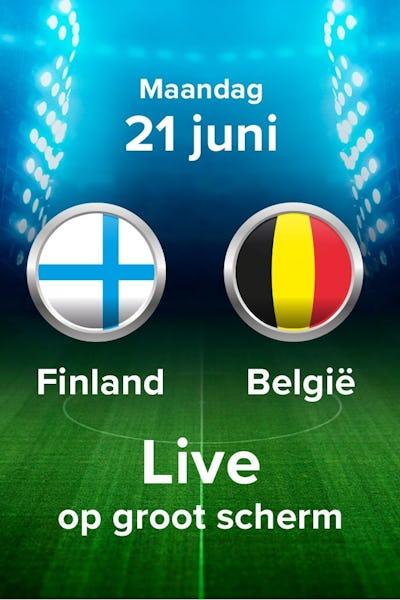 EK voetbal 2020: Finland - België - NV