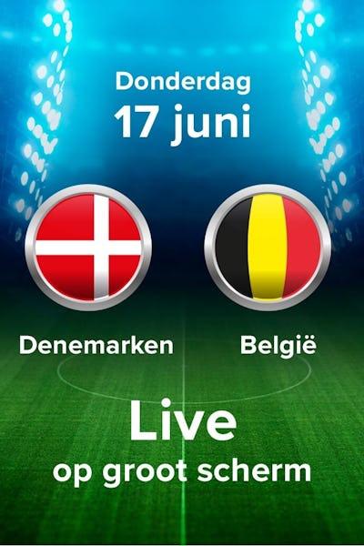 EK voetbal 2020: Denemarken - België - NV