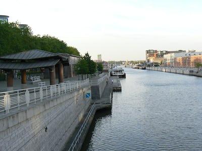 Anderlecht en het kanaal