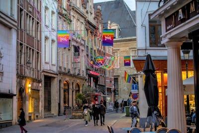 Een geschiedenis van de regenboog in Brussel