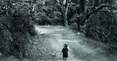 ©Wynn Bullock, Child on Forest Road, 1958 © 1958/2019 Bullock Family Photography LLC.  All rights reserved.