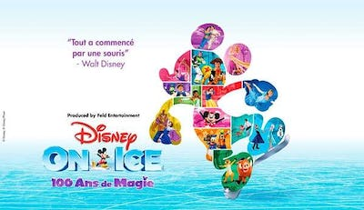 Disney On Ice - 100 Ans de Magie